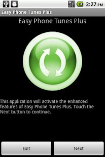 Easy Phone Tunes Plus - screenshot thumbnail
