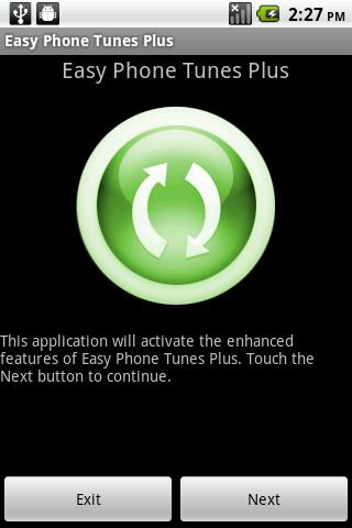 Easy Phone Tunes Plus - screenshot