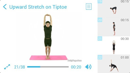 Standing Yoga Routine- screenshot thumbnail