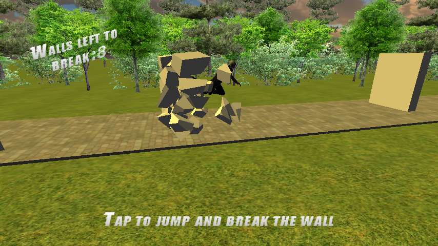 Parkour Man Android Game- screenshot
