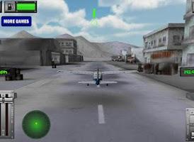 Screenshot of Snow Mountain Flight Simulator
