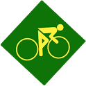 Fit bike icon