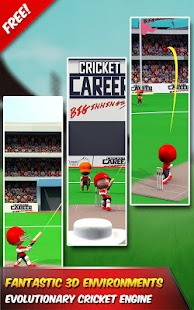 Cricket Career Biginnings 3D- screenshot thumbnail