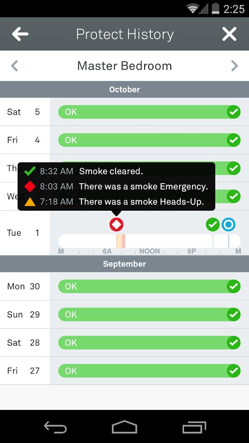 Nest - screenshot