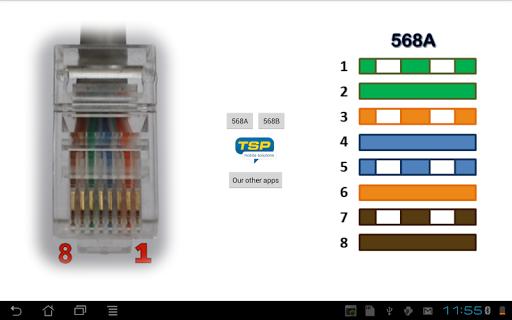 無料工具AppのRJ45イーサネット色|記事Game