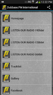 Dubbase.FM - Dubstep Radio- screenshot thumbnail