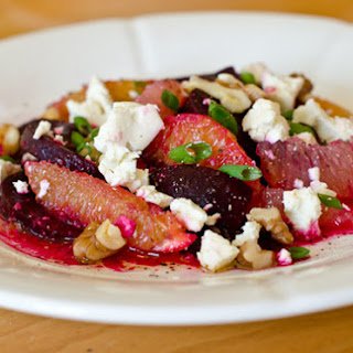 Roasted Beets with Citrus, Feta and Walnuts