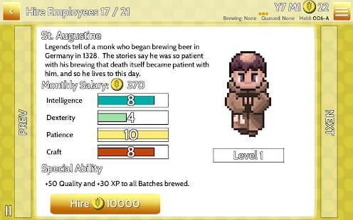 Fiz : Brewery Management Game Screenshot 27