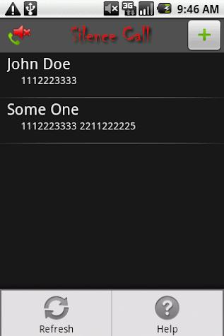 Silence Call Screenshot