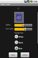 Screenshot of Simple Counter Widget