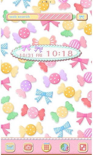 Cute Wallpaper Candy Icing 1.0 Windows u7528 1