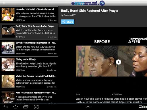 Emmanuel TV  screenshots 4