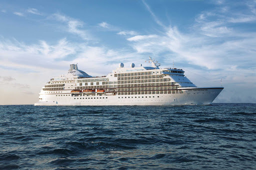 Regent-Seven-Seas-Navigator-at-sea - Explore the world in luxurious style aboard Seven Seas Navigator.