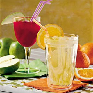 White Grape-and-Orange Cooler