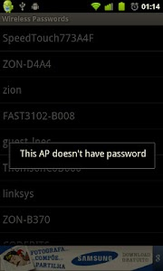 Wireless Passwords screenshot 1