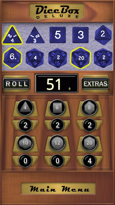 Dice Box Deluxe - screenshot