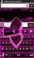 Screenshot of Go Keyboard Emo Punk Theme