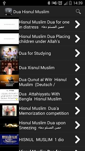 Dua Hisnul Muslim