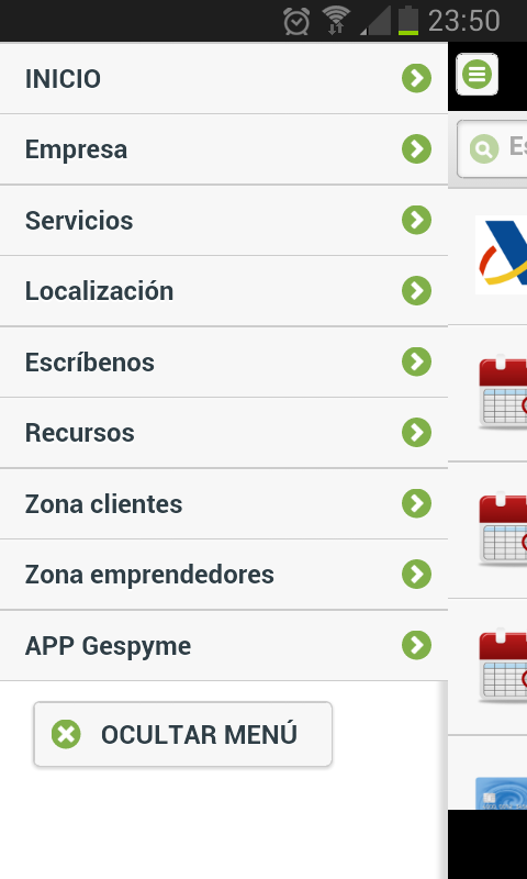 Asesoría Empresarial Gespyme - screenshot