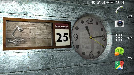 Clock and Calendar 3D 19