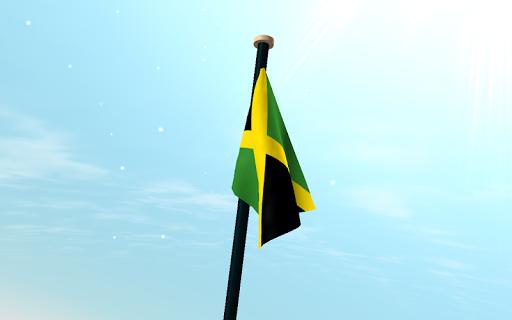 【免費個人化App】牙買加旗3D動態桌布-APP點子
