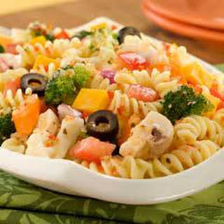 Rotini Pasta Salad With Italian Dressing Recipes.