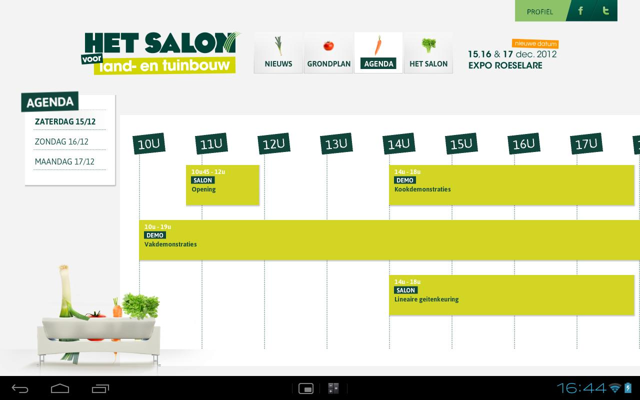 Het Salon - screenshot