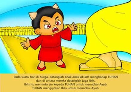 Komik Alkitab Anak : AYUB