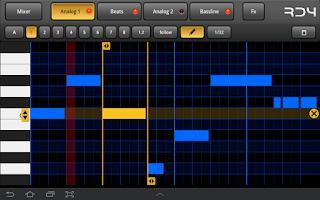 Screenshot of RD4 Groovebox Demo