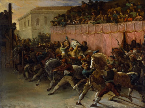 Riderless Racers at Rome