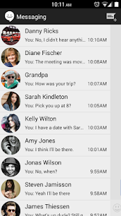 Sliding SMS (CM Messaging) - screenshot thumbnail