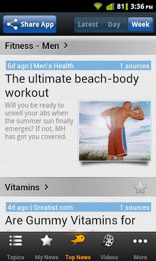 Fitness News - Men
