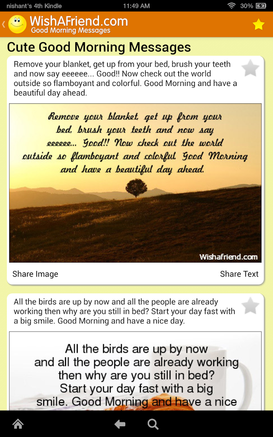 Good Morning Messages - Android Apps on Google Play