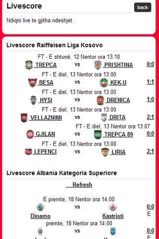 Albania Soccer- screenshot