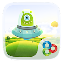 Monsters GO Launcher  Theme icon
