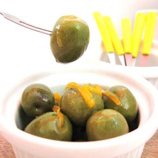 Orange Flavored Olives.