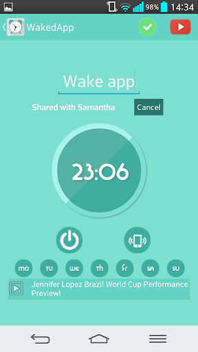 WakedApp - Youtube Alarm