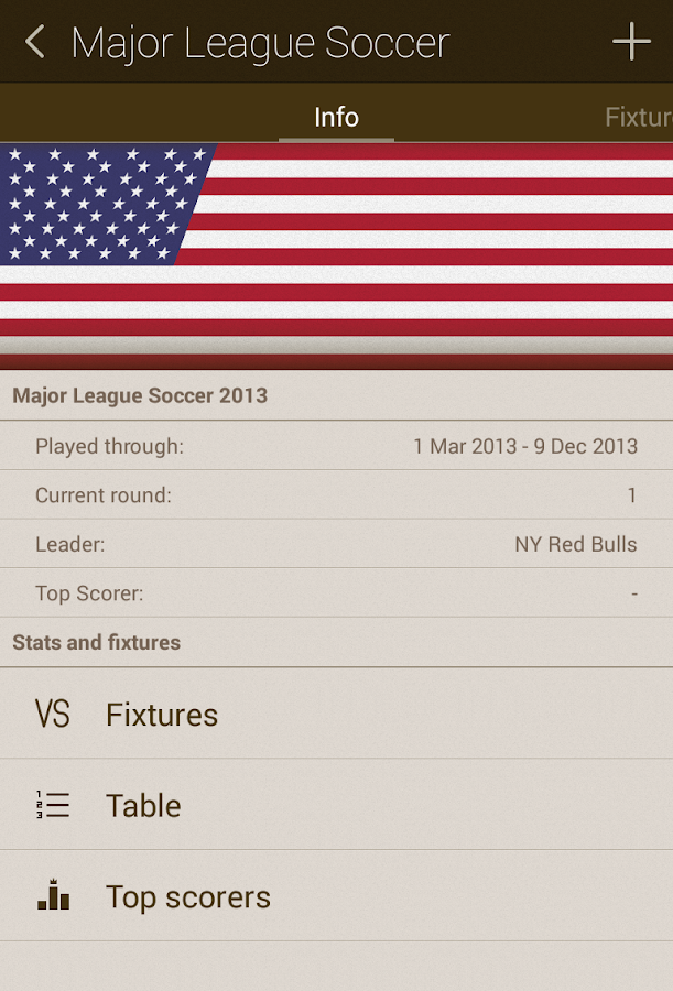 Live Score Addicts - Soccer - screenshot