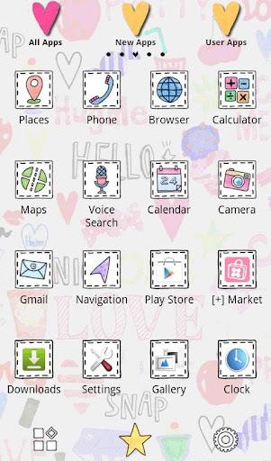 Cute Wallpaper Love Me 1.0 Windows u7528 2