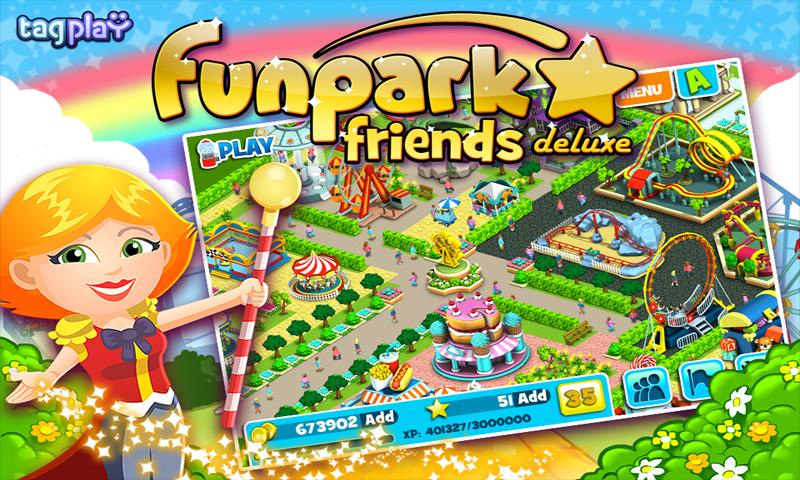 Funpark Friends Deluxe - screenshot