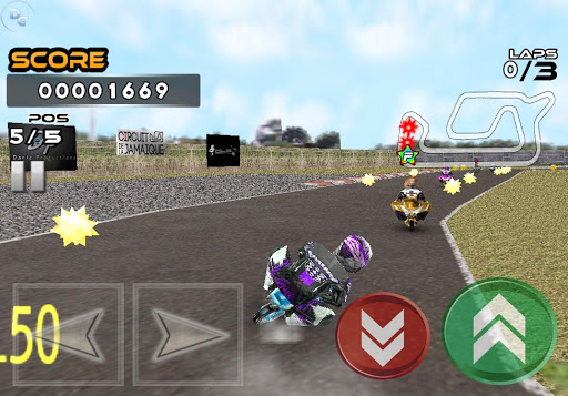 Pocket Bike Race screenshot
