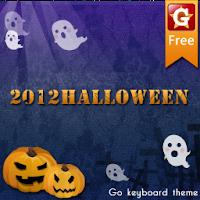 GOKeyboard Halloween2012 theme 2.0