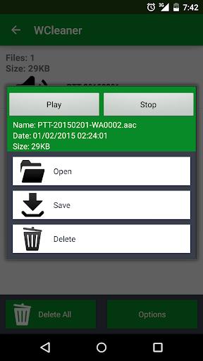 WCleaner for WA (No Ads)  screenshots 4