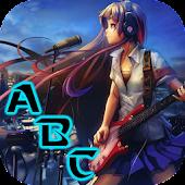 Rocker Girl Keyboard