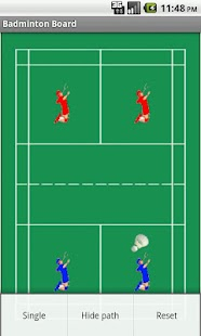 Badminton Tactics Board Lite- screenshot thumbnail