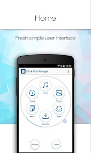 Tomi File Manager (Explorer)- screenshot thumbnail
