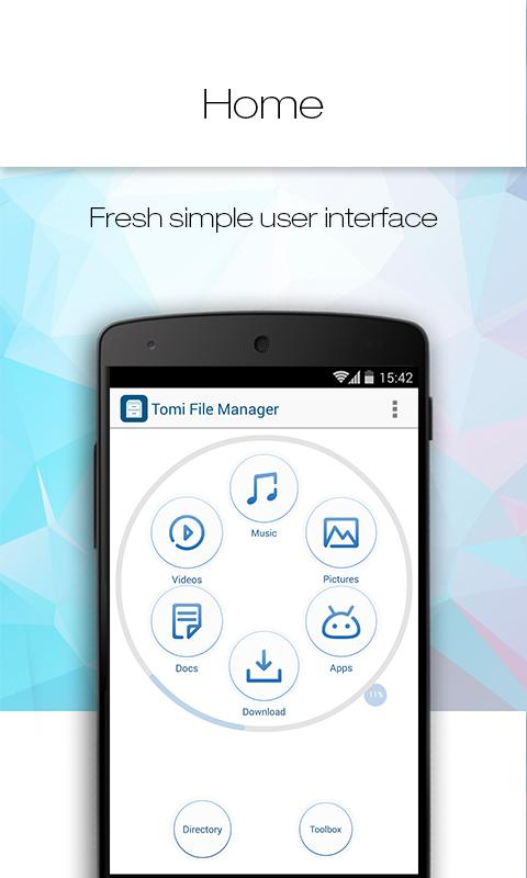Tomi File Manager (Explorer)- screenshot