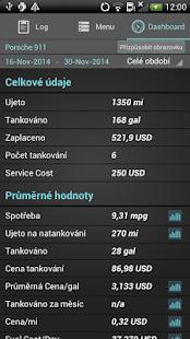Fuel Buddy- Kilometrový Záznam - náhled