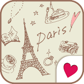 Cute wallpaper★milky paris
