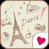 Cute wallpaper★milky paris